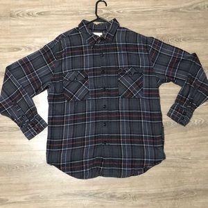 Men's long button up long sleeve casual shirt